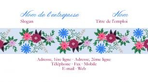 #163713 modèle de carte de visite girly