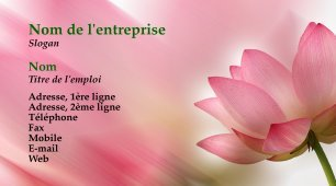 644825 Modele De Carte Visite Photo Design Fleuriste