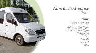 718349 Modle De Carte Visite Transport Dmnagement